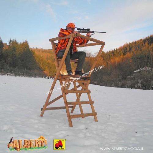 Altana caccia A-D-L pieghevole piccola (H230)
