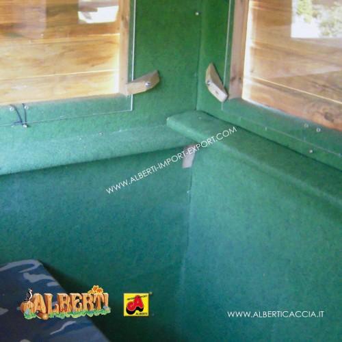 Set Premium per Cabina Guardaboschi con schienale e appoggiagomiti finestre