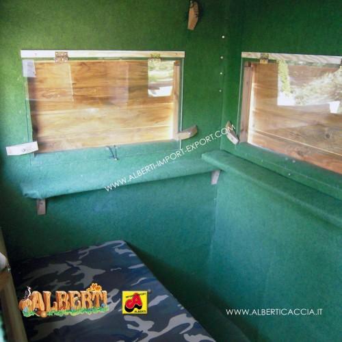 Appoggiagomiti per finestre cabina Guardaboschi 3 pz.