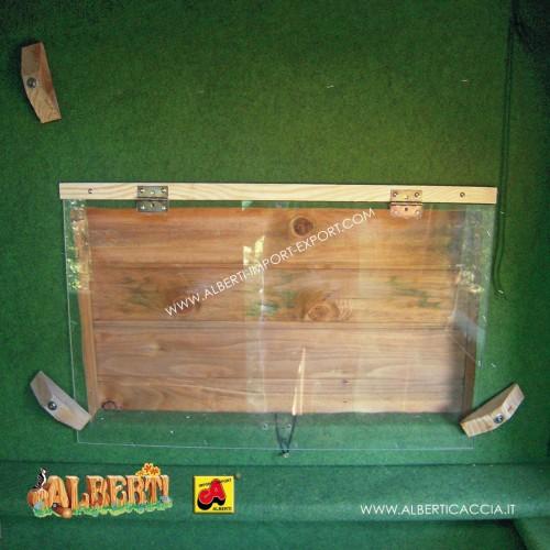Lastre Plexiglas per cabina Guardaboschi 5 pz.