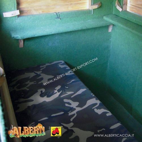 Cuscino per panca cabina Guardaboschi