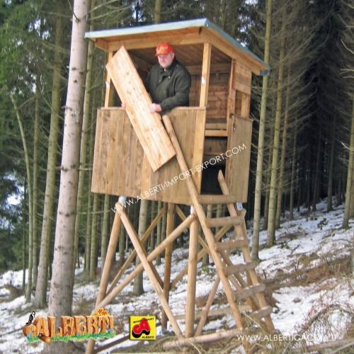 Pannelli per chiusura parziale della cabina da caccia aperta grande, 5 pz.