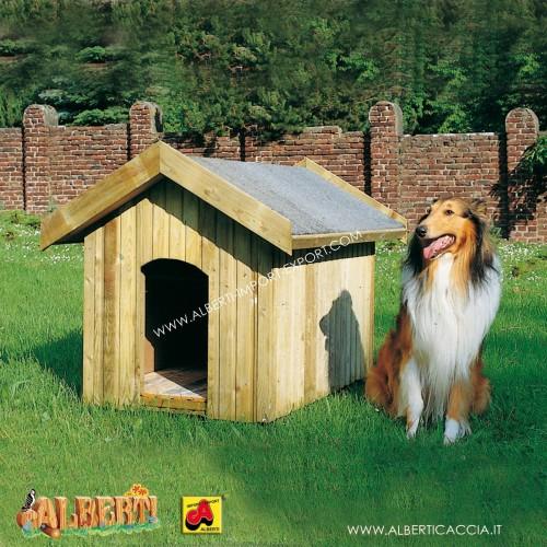 Casetta cani COLLIE con pareti isolate 70x110