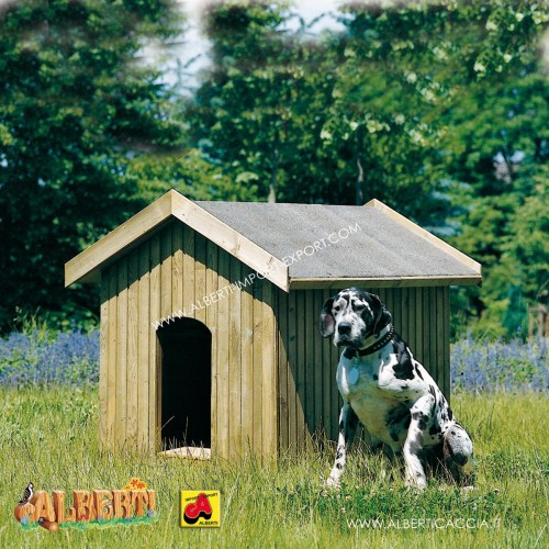 Casetta per cani 90x140 con pareti isolate