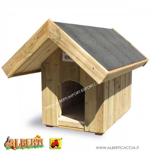 Casetta per cani Dackel con pareti isolate 50x80 cm